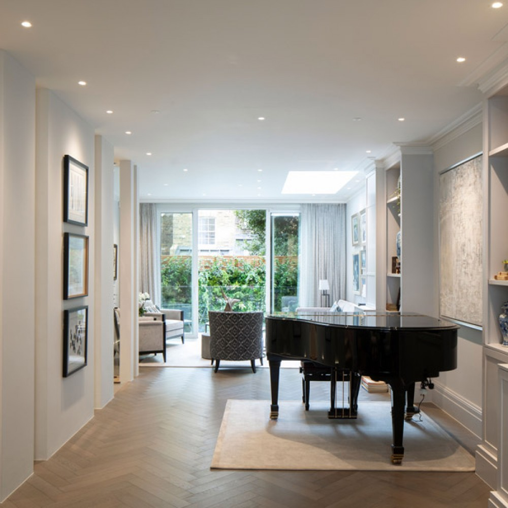 2nd Knightsbridge townhouse